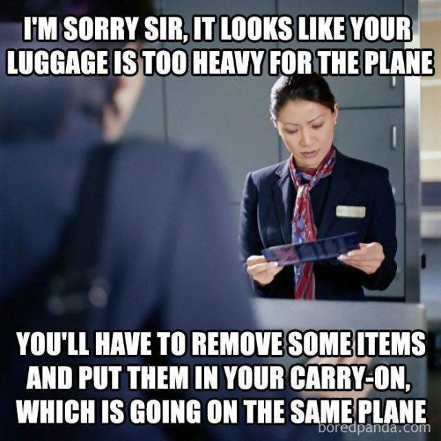 Air Travel Memes (27 pics)