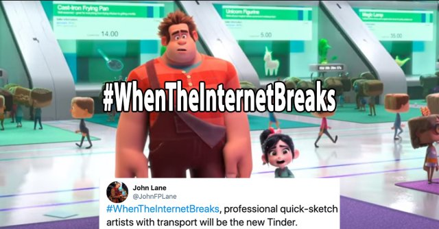 #WhenTheInternetBreaks Memes (25 gifs)