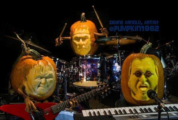 Creative Jack O'Lanterns (43 pics)