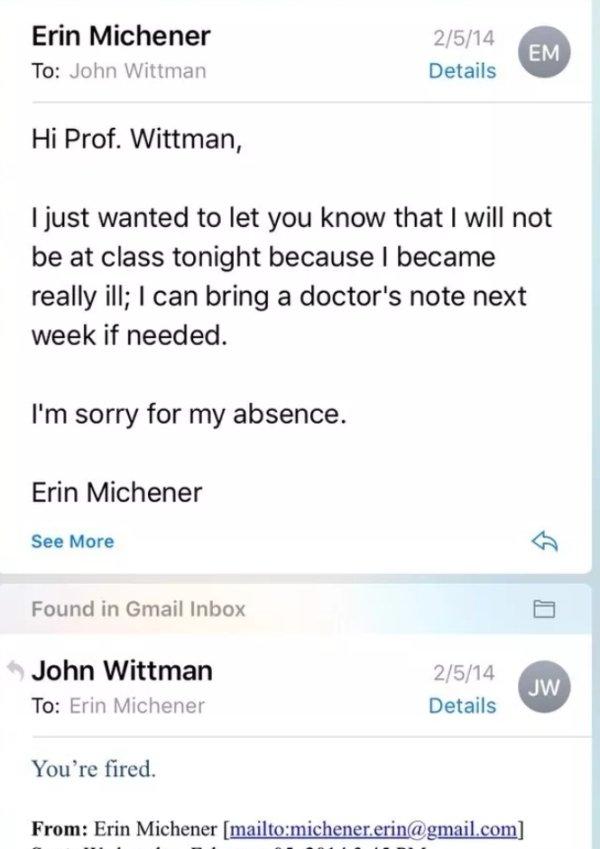 Messages Between Professors And Students (30 pics)