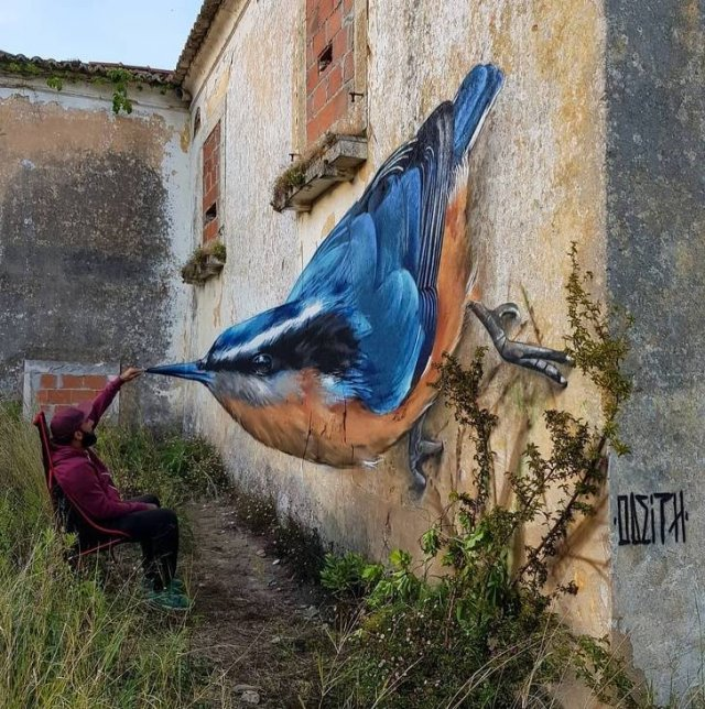 Awesome Murals (20 pics)