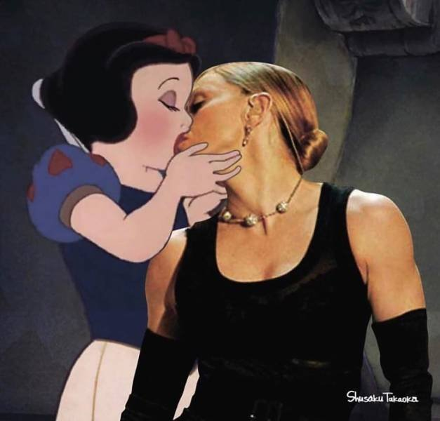 Not Your Normal Disney Characters (25 pics)
