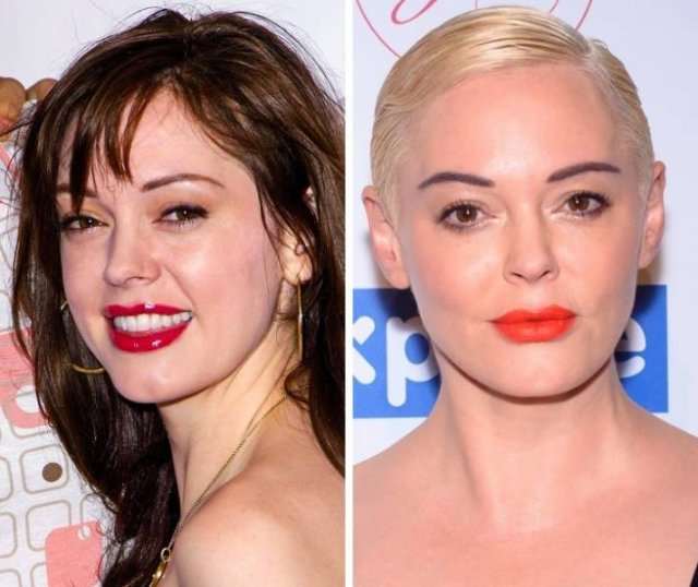 Old Vs. New Photos Of Famous People (17 pics)