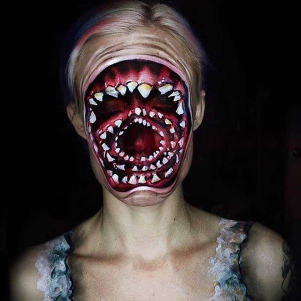 Great Halloween Makeup (21 pics)