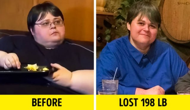 Before & After Weight Loss (12 pics)