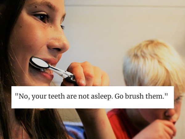 Crazy Things Parents Say (30 pics)
