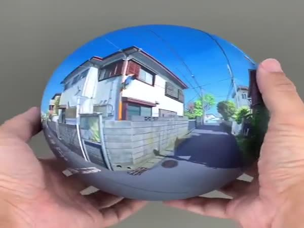 Panoramic Painting On A Sphere