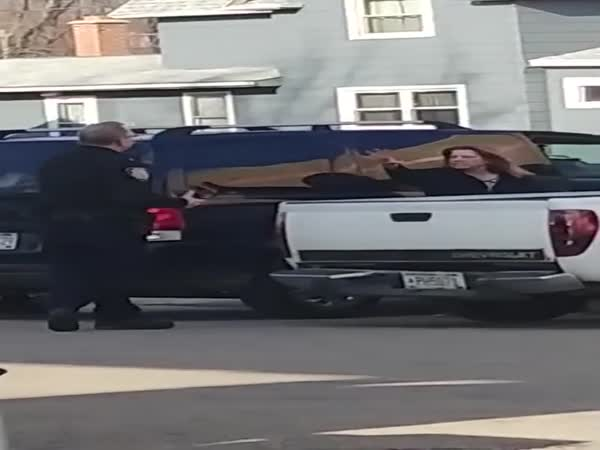 Woman Gets Tased After Trying To Exorcise A Police Officer
