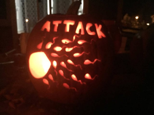 Creative Jack-o'-lanterns (21 pics)