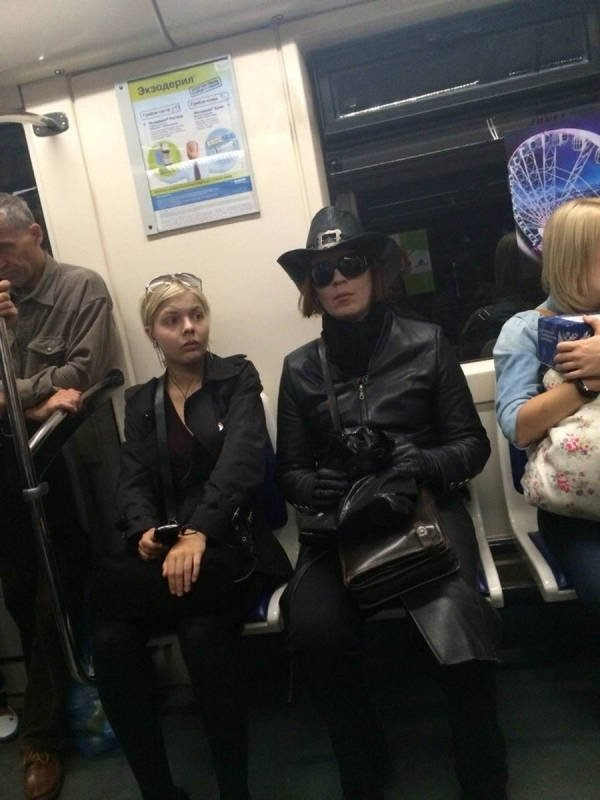 Funny And Strange Things On the Subway (31 pics)