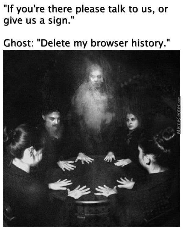 Ghostly memes (30 pics)