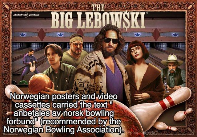 Lebowski Facts (21 pics)
