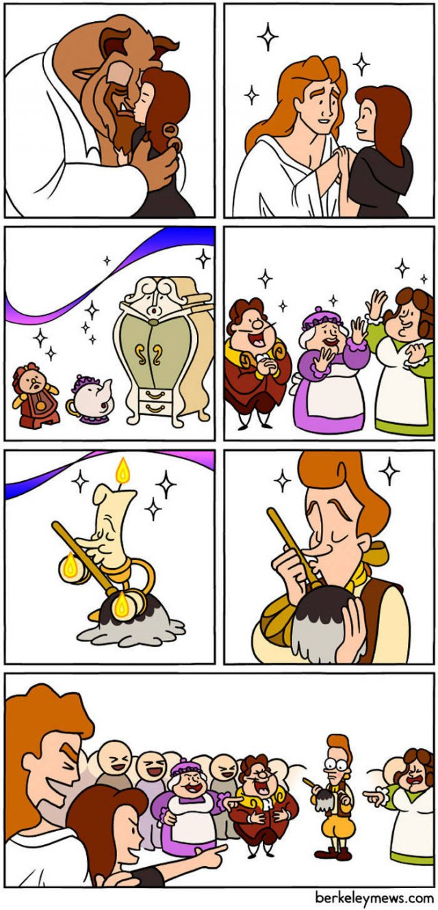 Unusual Point of View In Short Comics (30 pics)