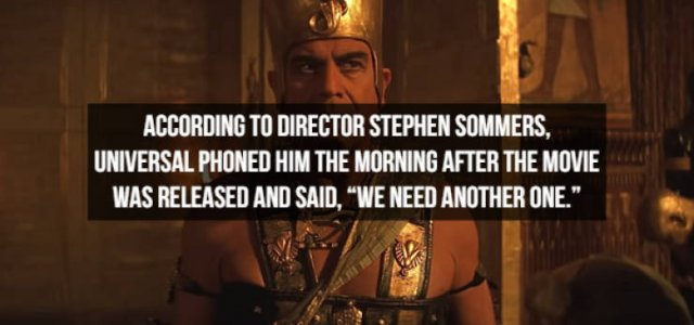 """Interesting Details About """"The Mummy"""" (17 pics)"""