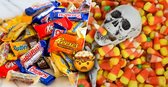 The 10 Worst And The 10 Best Halloween Candies (20 pics)