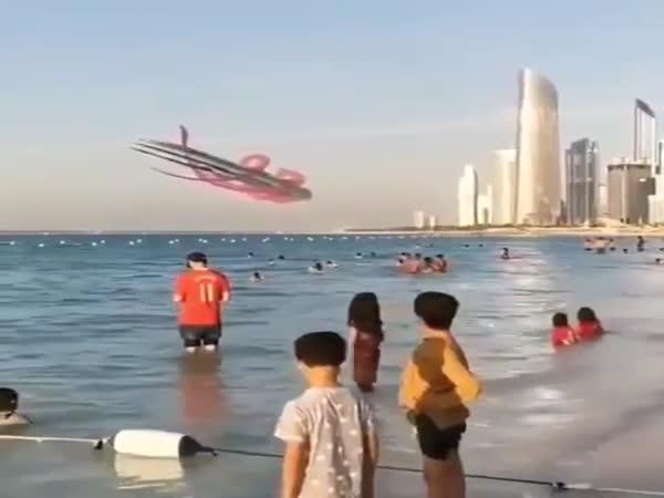 Impressive Flyby