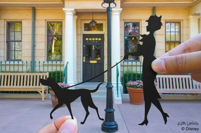 Talented Artist Complement Photos With Paper Creations (50 pics)