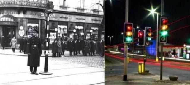 100 Years Ago Vs. Nowadays (36 pics)
