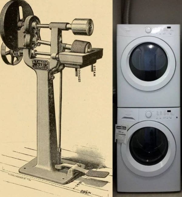 100 Years Ago Vs. Nowadays (36 pics)