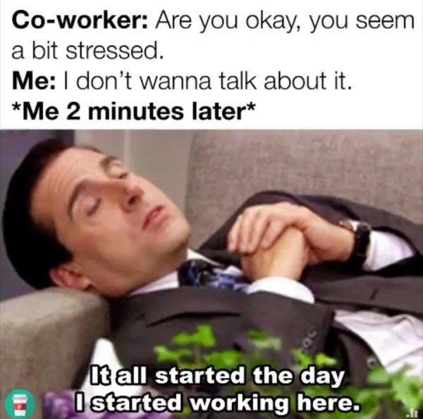 Stress memes (30 pics)