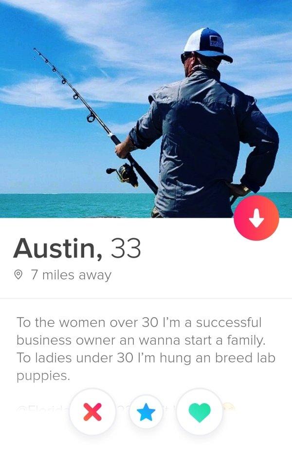 Weird Profiles On Tinder (29 pics)