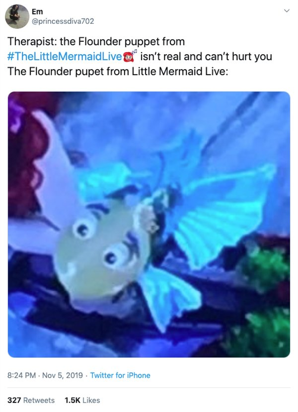 "Funny Memes & Tweets About ""The Little Mermaid Live"" (23 pics)"