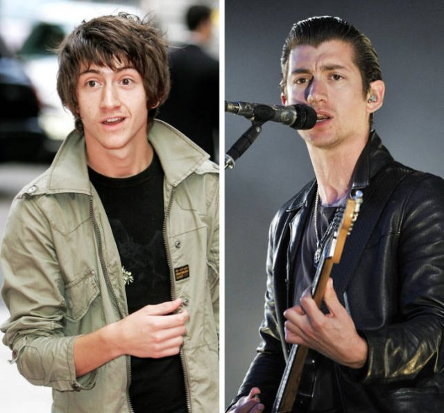 Rock Stars: Then and Now (20 pics)