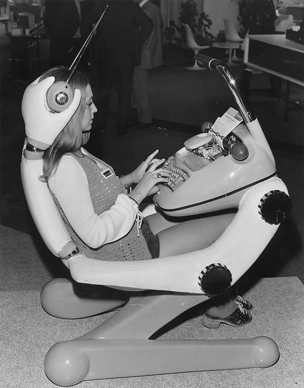 How People In The Past Saw The Future (30 pics)