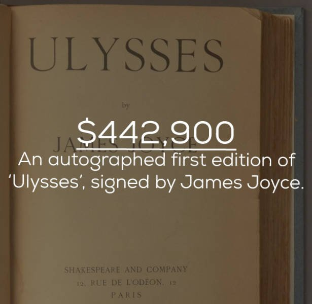 Things Signed By Celebs Can Be Very Expensive (20 pics)