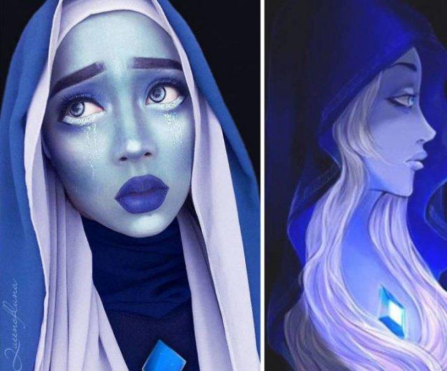 Hijab Cosplay (40 pics)