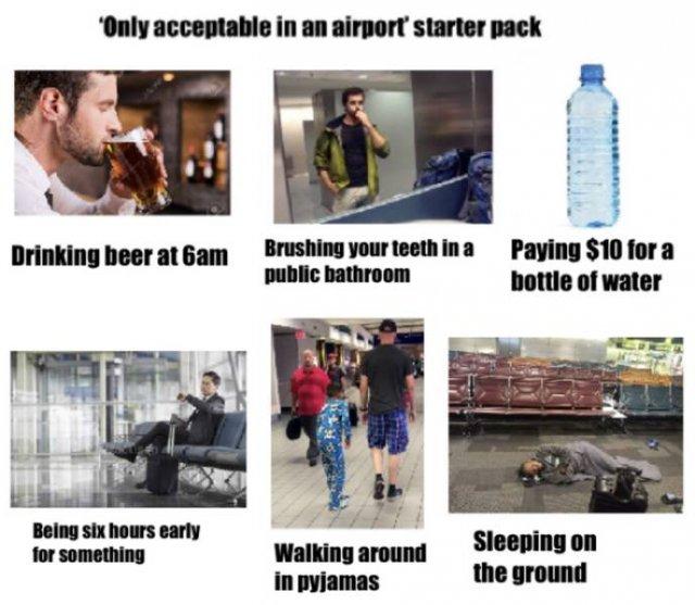 Starter Pack Memes (21 pics)