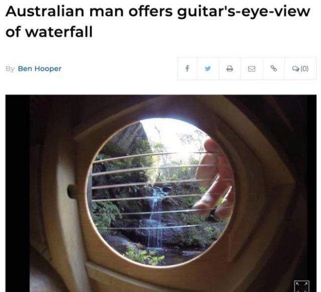 Headlines About Australian Men (22 pics)