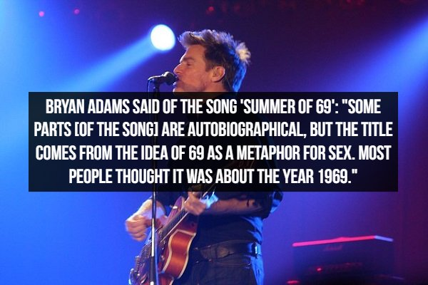 Facts About Popular Songs (22 pics)