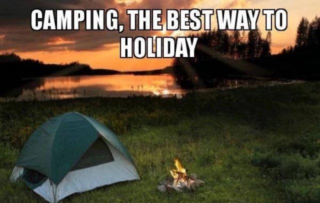 Camping Memes (34 pics)