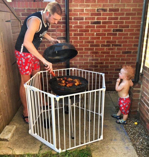 When You Leave Kids With Dad (26 pics)