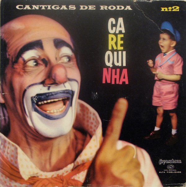 Clowns On Old Album Covers (29 pics)