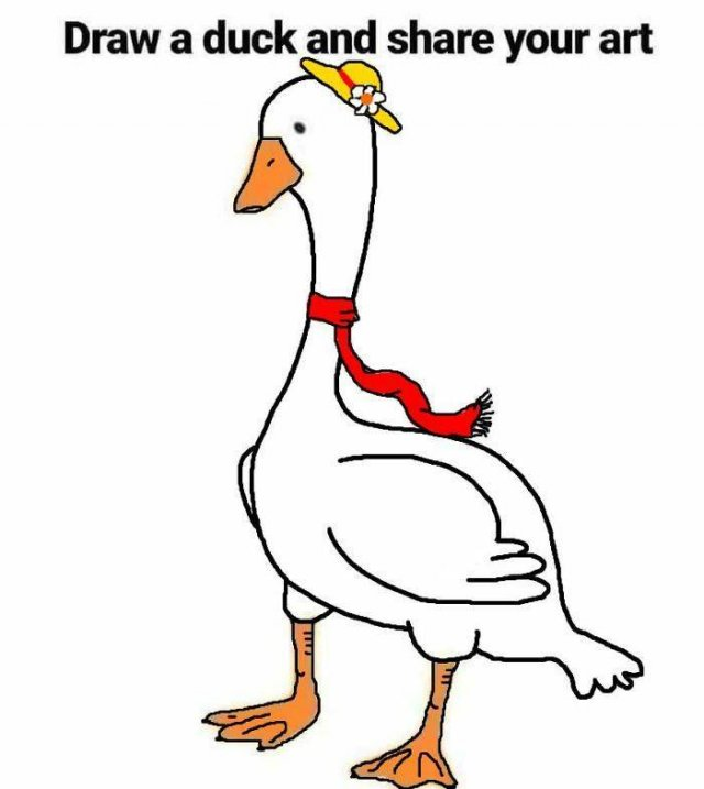 Just Try To Draw A Duck (32 pics)
