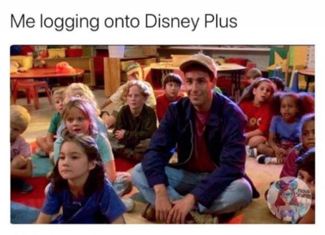 """""""Disney+"""" Memes (30 pics)"""