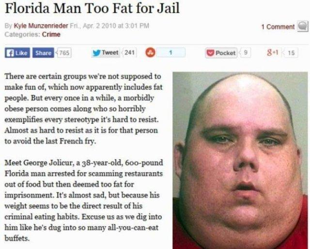 Crazy Florida People (37 pics)