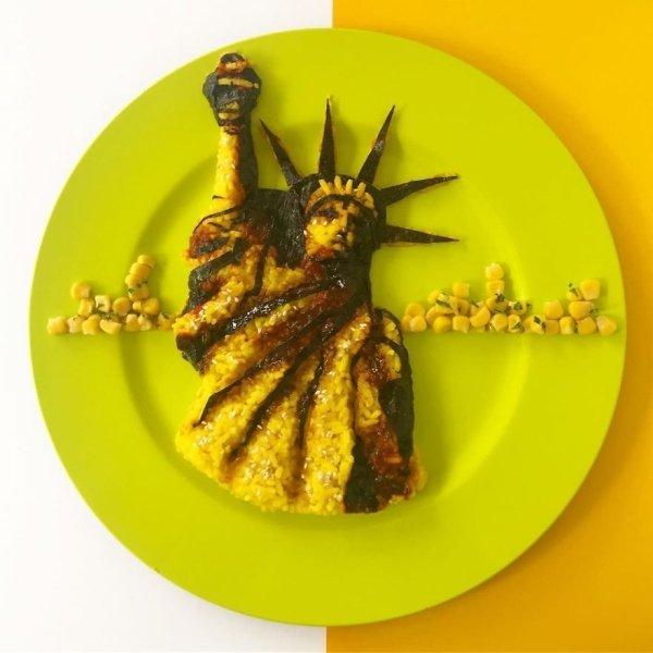 This Food Looks Like Art (42 pics)