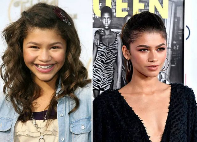 Celebs Then And Now (31 pics)