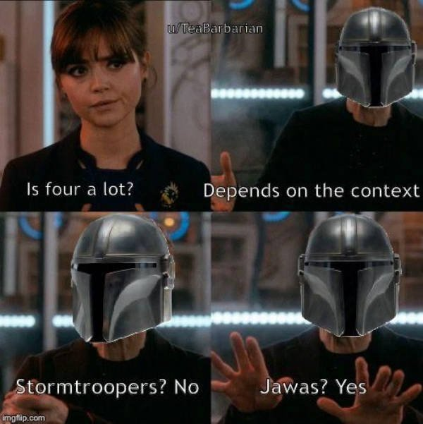 Join The Force Of 'The Mandalorian' Memes (32 pics)