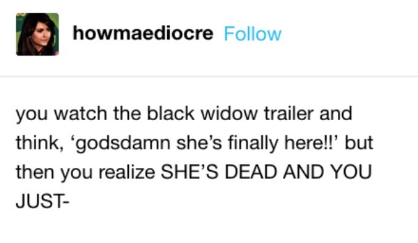 Memes About 'Black Widow' Movie (14 pics)