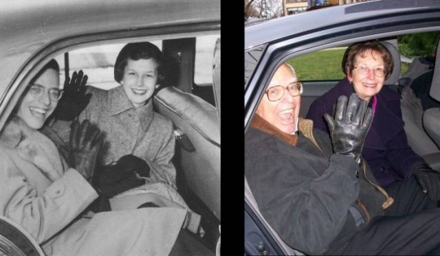 Then And Now Photos: Timeless Moments (22 pics)