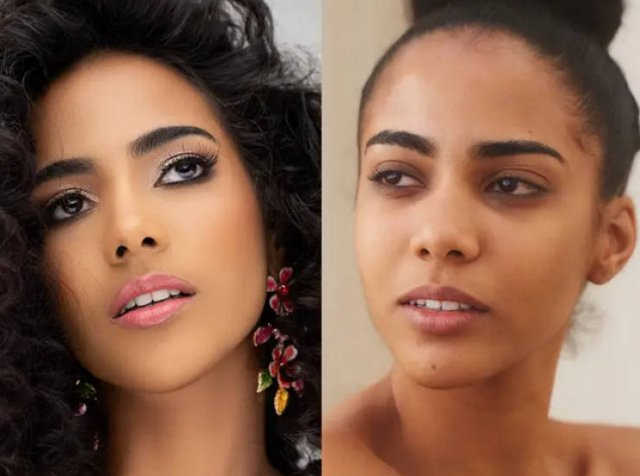No Make-Up Photos Of Miss Universe Contestants (13 pics)