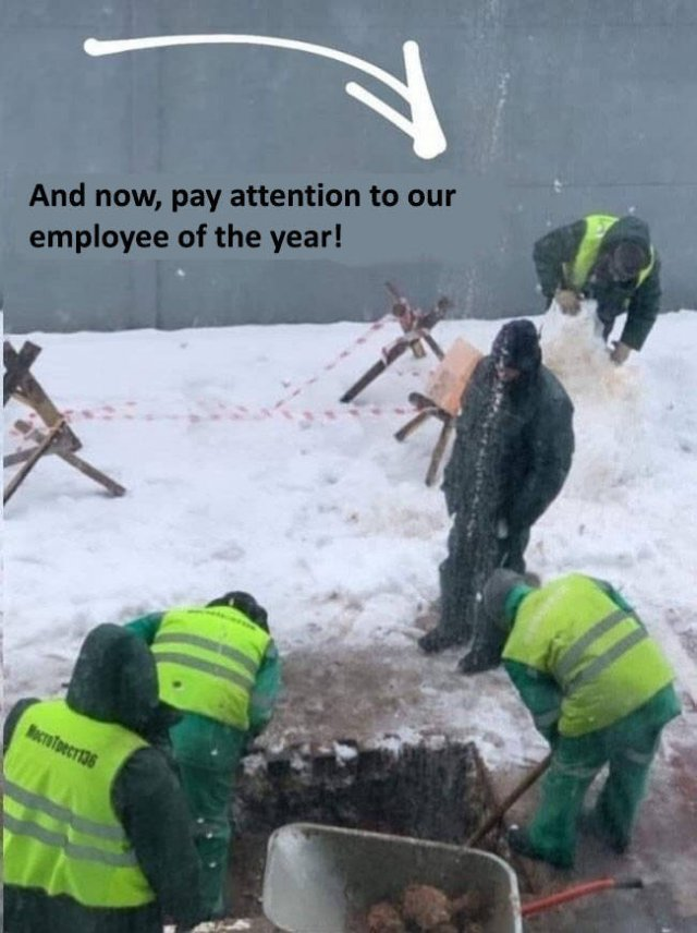 Employee Of The Year (4 pics)