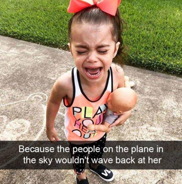 Reasons Kids Cry (21 pics)