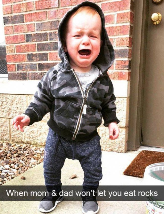 Reasons Kids Cry (21 pics)