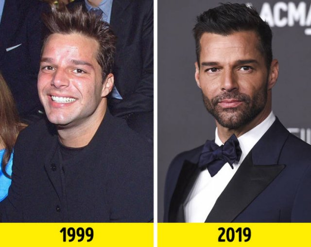 Stars Of The '90s Then And Now (15 pics)