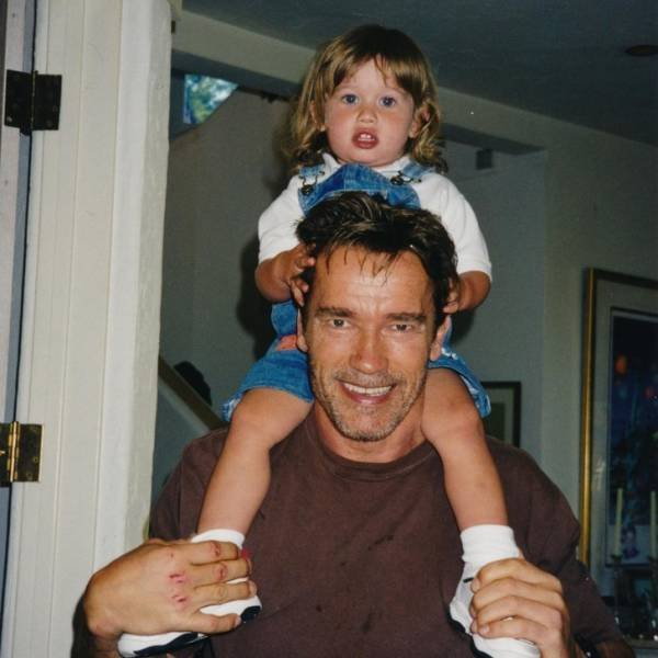 Arnold Schwarzenegger: Brilliant Actor And Dad (15 pics)